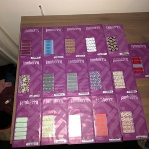 Lot of 13 Jamberry Nail Stickers